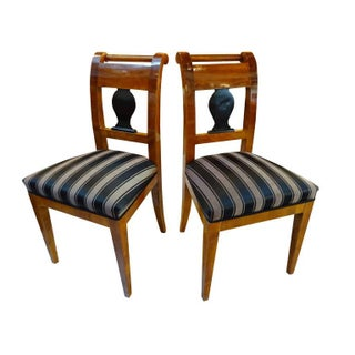 Austrian Biedermeier Side Chairs - A Pair