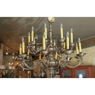 Large 19th Century Flemish Chandelier