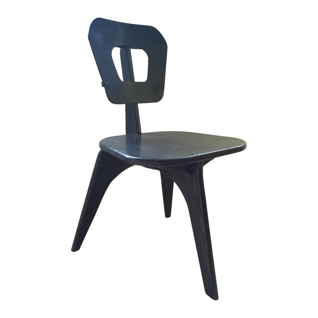 Arthur Collani Vintage 3-Legged Chair - Image 1 of 6