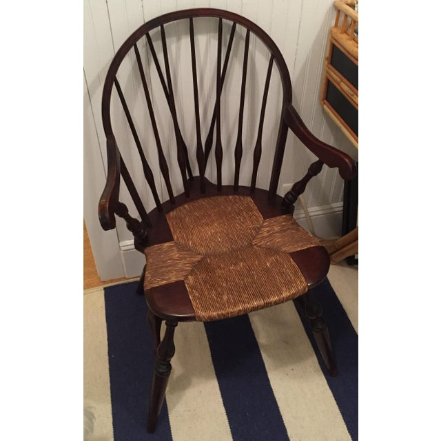 Antique Windsor Bow Chair - Image 3 of 3