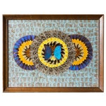 Image of Art Deco South American Butterfly Wing Collage