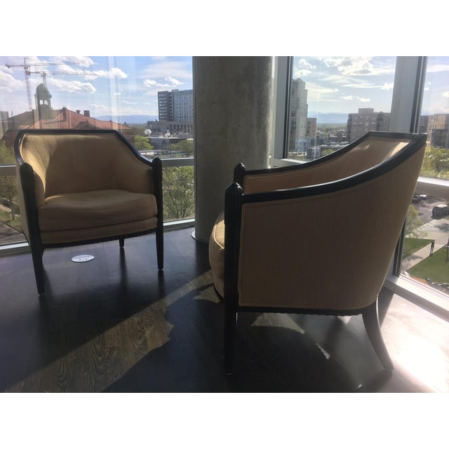 Art Deco Style Lounge Chairs - A Pair - Image 7 of 11