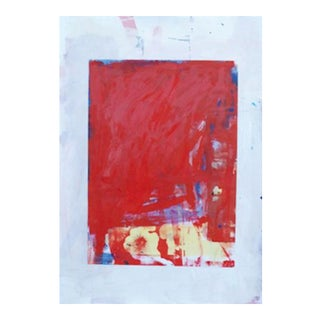 """Marco Pittori """"Flower in Red Field"""" Print"""