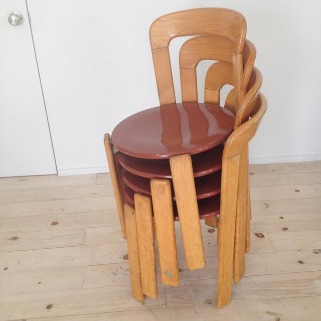 Image of Swiss Co. Dietiker Bruno Rey Chairs - Set of 4