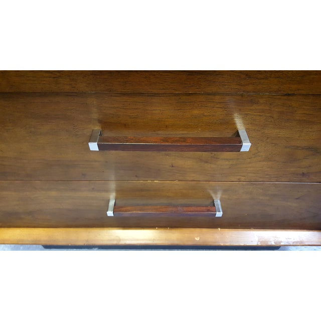 Mid-Century Lane Rosewood Accent Tall Chest - Image 7 of 11