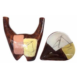 Edmund Ronaky for Jaru Ceramics - A Pair