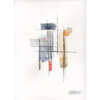 """Rebar Seventeen"" Original Watercolor Painting"