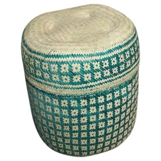 Hand-Woven Oaxacan Basket I