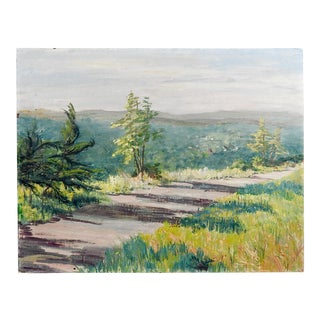 Early Morning Plein Air Landscape