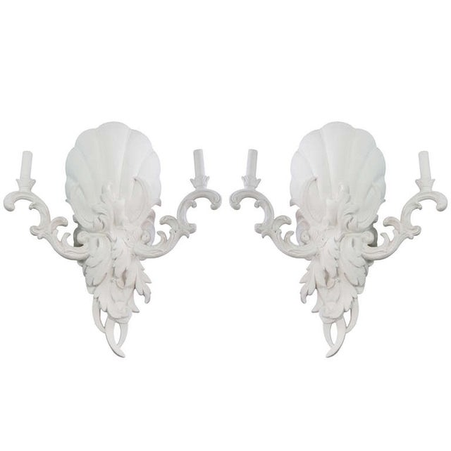 Serge Roche Style Sconces - Pair - Image 1 of 6
