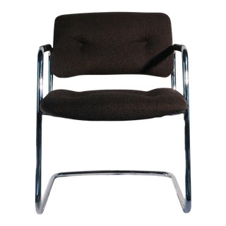 Mid-Century Steelcase Style Cantilever Chair