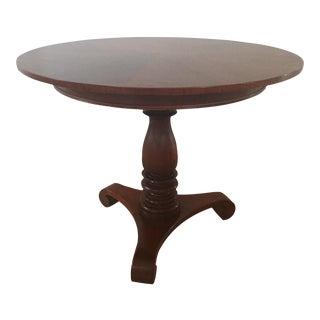 Baker Milling Road Round Pedestal Center Table