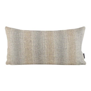 Design Within Reach Wool Striae Pillow in Quarry