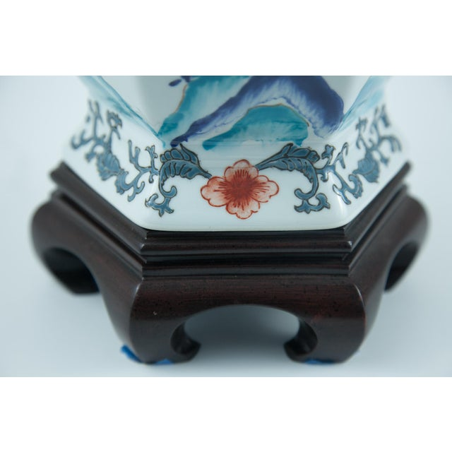 Chinese Porcelain Lamp - Image 3 of 4