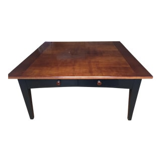 Shaker Style Cherry Wood Coffee Table