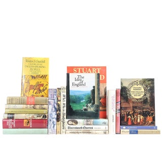 Vintage Everything England Books - Set of 20