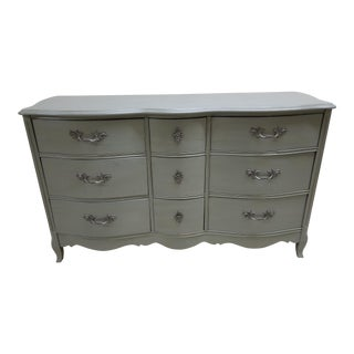 French Provincial Distress Painted Dresser