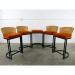Image of Milo Baughman for Shaver-Howard Cantilever Bar Stool - Set of 5