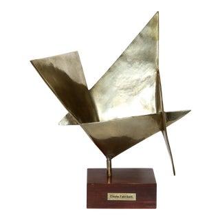 Elayne Fabrikant Geometric Abstract Sculpture