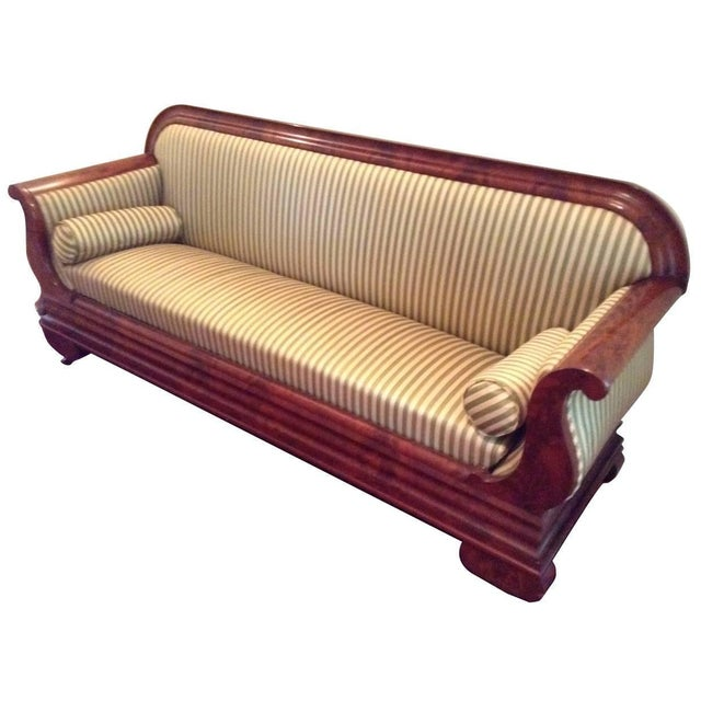 Classic antique biedermeier sofa chairish for Sofa italienisch