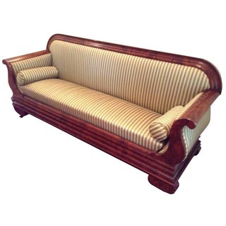 Classic Antique Biedermeier Sofa