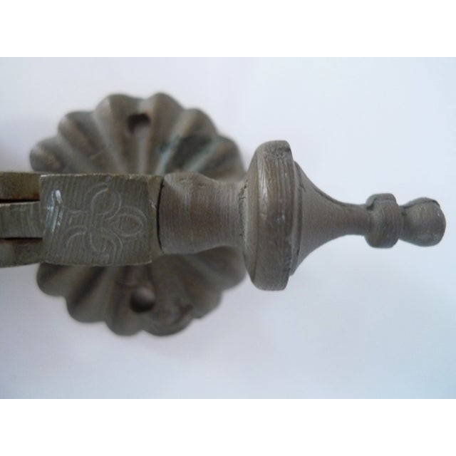 Antique Moroccan Brass Door Knocker - Image 7 of 7