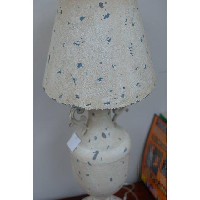 Cream Metal Nostalgia Primitive Table Lamp - Image 5 of 5