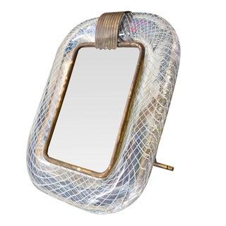 Blown glass Venini picture frame