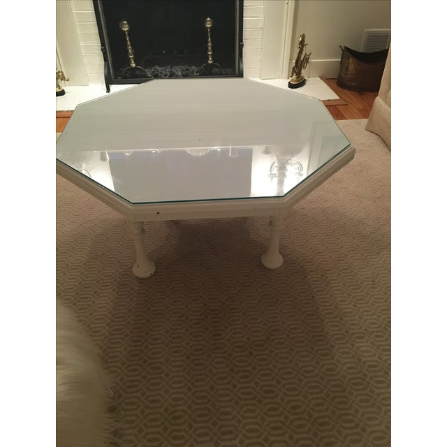 High Gloss White Coffee Table Chairish