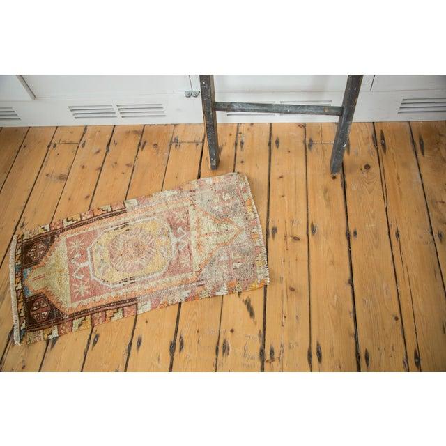 "Vintage Oushak Distressed Rug - 1'6"" x 2'10"" - Image 4 of 6"