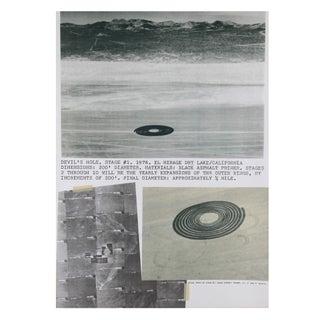Dennis Oppenheim - Devil's Hole Lithograph