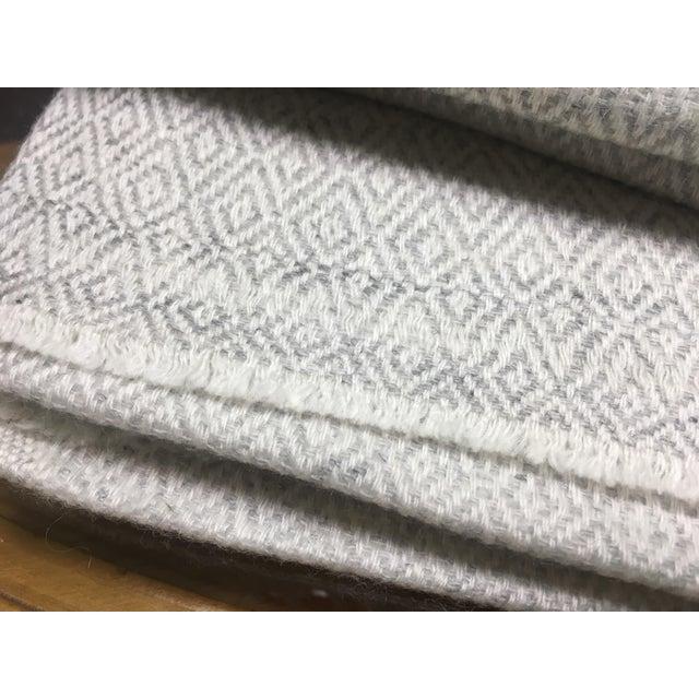 Diamond Design Cashmere Blend Blanket - Image 8 of 9