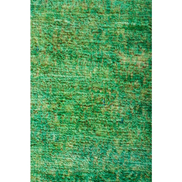 """Image of New Overdyed Hand Knotted Runner - 3'1"""" x 7'10"""""""