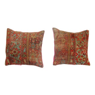 Malayer Rug Pillows - A Pair
