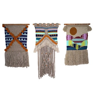 Willow Brooke Woven Wall Hangings - Set of 3