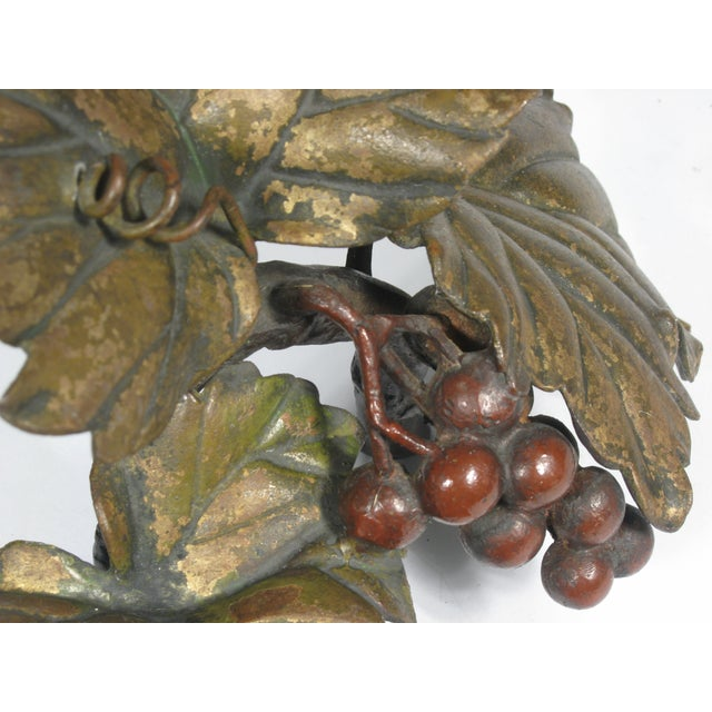 Bronze Grapes Decorative Object - Image 4 of 5