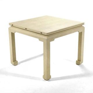 Karl Springer Flip-Top Game / Dining Table
