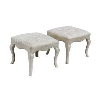 Ottomans by Sherrill - Pair