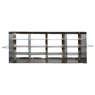 Vintage Stainless Steel Shelves/Organizer