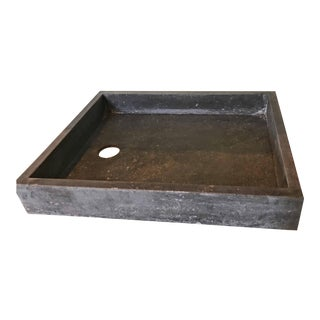 c. 1850 Antique Bluestone Sink