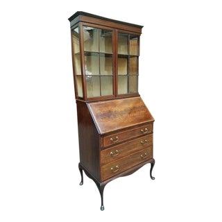 Edwardian Bureau Bookcase c.1910