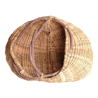 Artisan Crafted Hand-Woven Basket