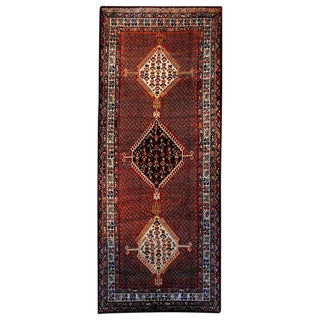 Amazing Early 20th Century Ghashgaei Rug