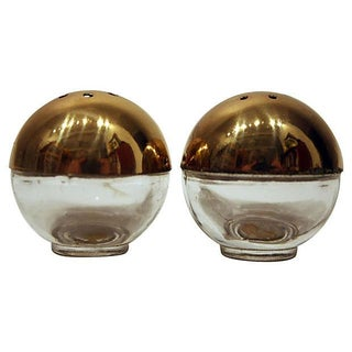 Mid-Century Modern Japanese Shakers, a Pair