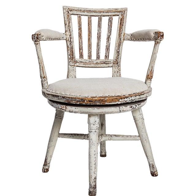 Swedish Swivel Chair - Image 5 of 5