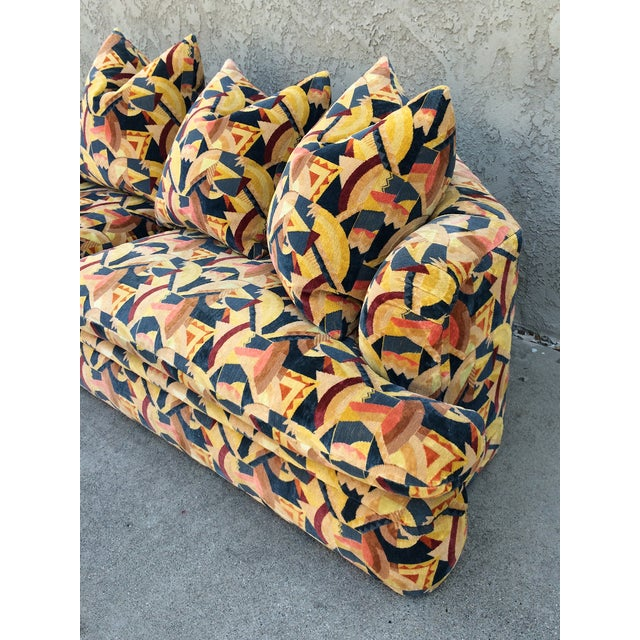Angelo Donghia Memphis Upholstered Sofa - Image 7 of 8