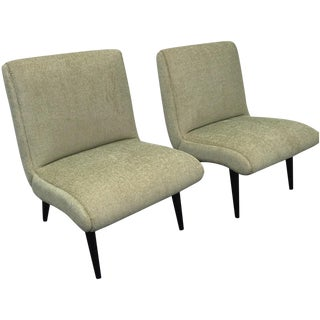 Simplaform Light Green Side Chair - Pair