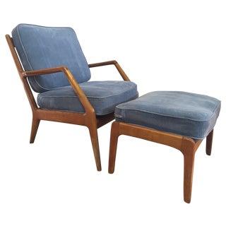Orla Molgaard-Nielsen Lounge Chair & Ottoman
