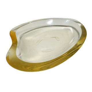 Organically Shaped Lucite Tray