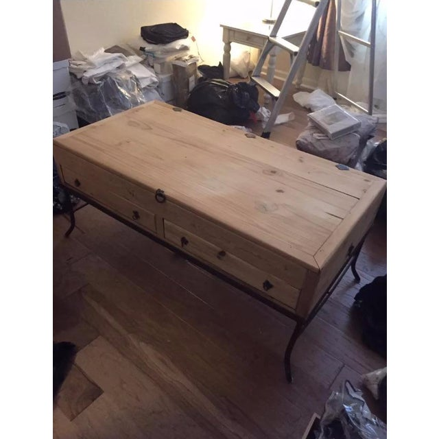 Wooden Apothecary Coffee Table - Image 3 of 9